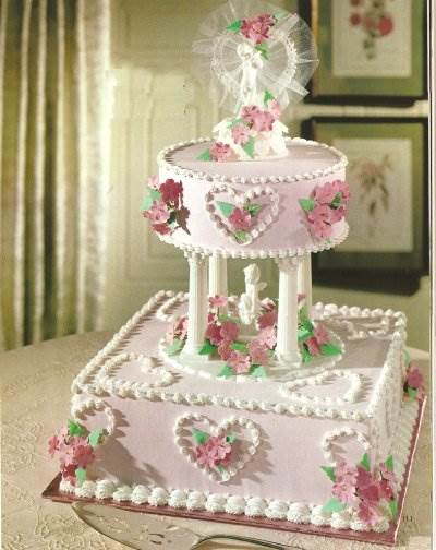Wedding Cake Designs With Pillars Memories Magpie