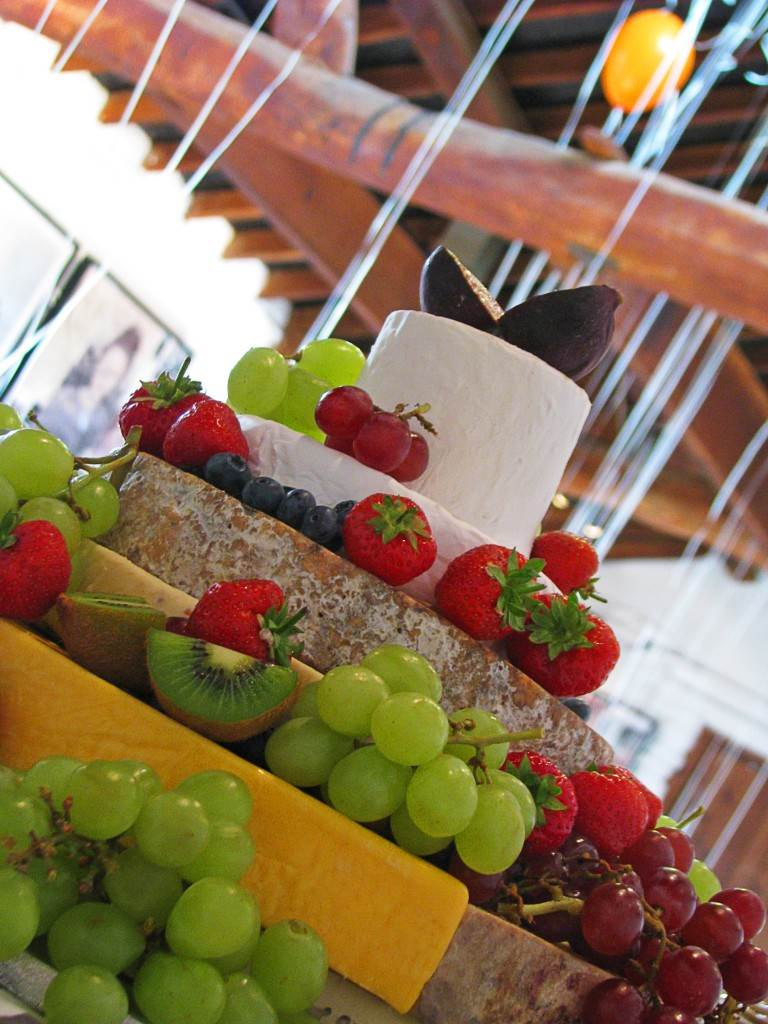 wedding cheese cake by The National Vintage Wedding Fair