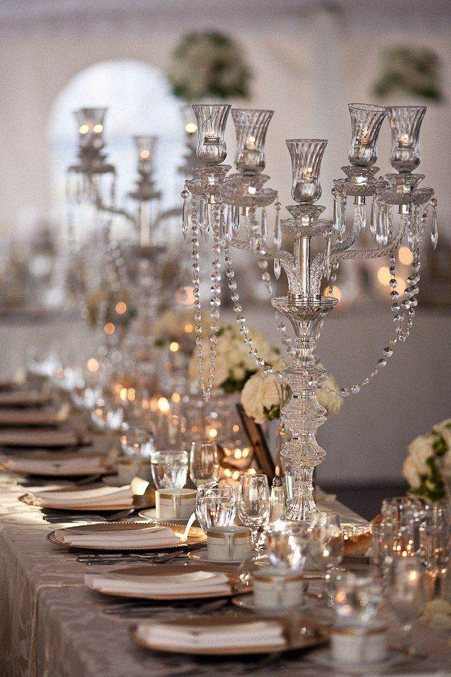 vintage wedding table setting from The National Vintage Wedding Fair
