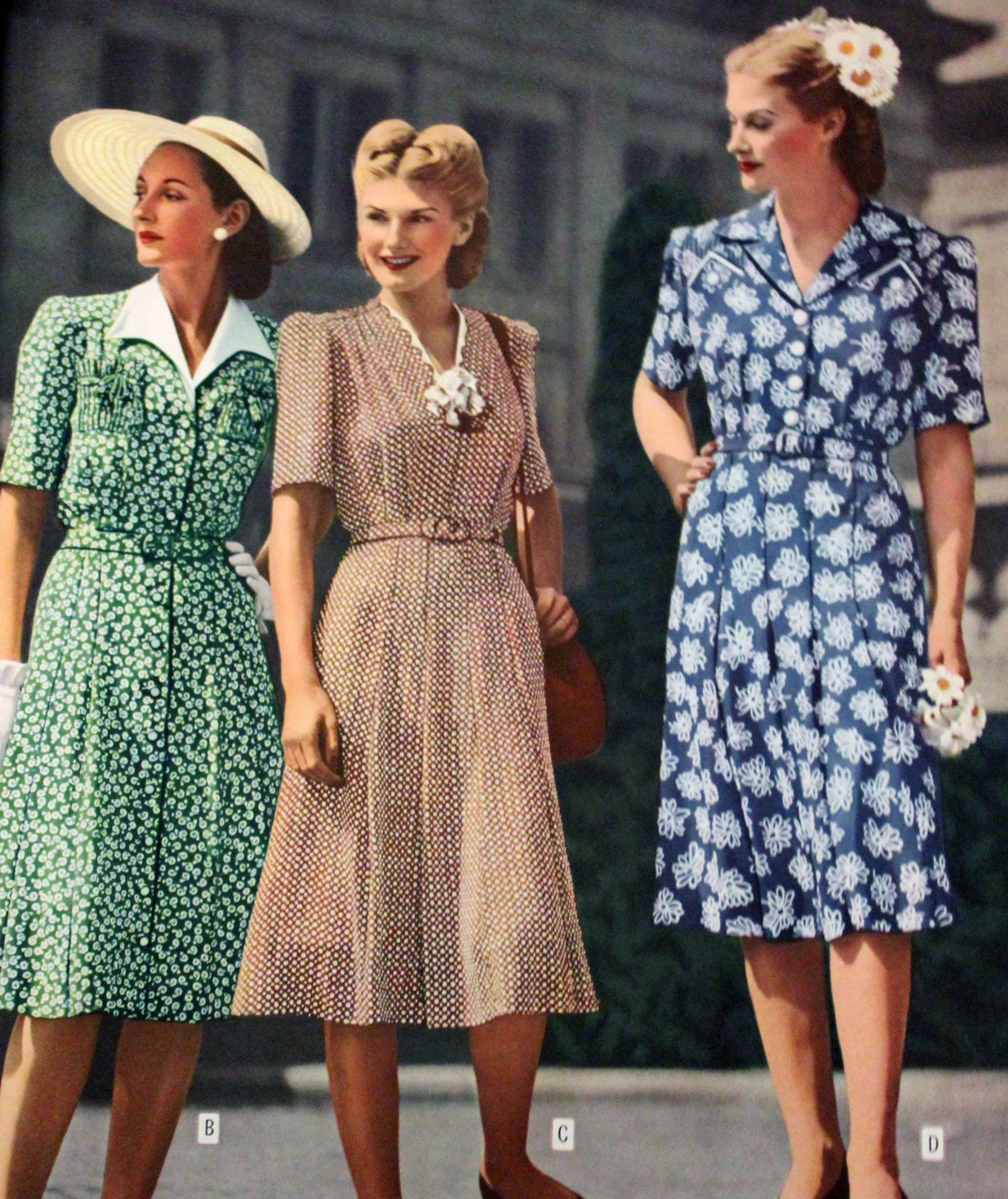 1950s womens casual clothing fashion