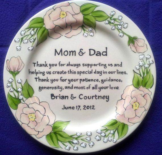 Thank You Wedding Gift Ideas For Parents : 25 ways to say thank you at your wedding 9 via National Vintage Fair ...