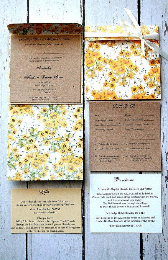 25 Wedding Invitations 2 Via National Vintage Wedding Fair Blog