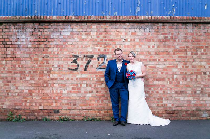 Vintage wedding featured on The National Vintage Wedding Fair blog