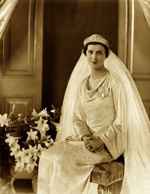 Princess Marina Of Greece And Denmark Who Married Prince George Duke Kent On 29th November