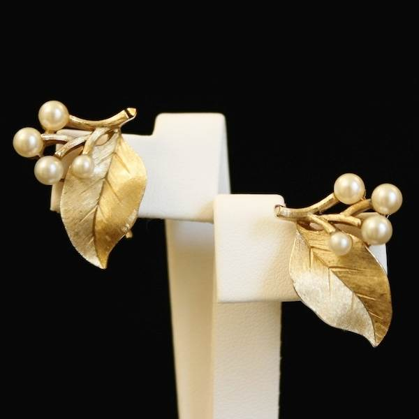 'Branches, Leaves and Buds' Necklace, Trifari  Available at Gemma Redmond Vintage