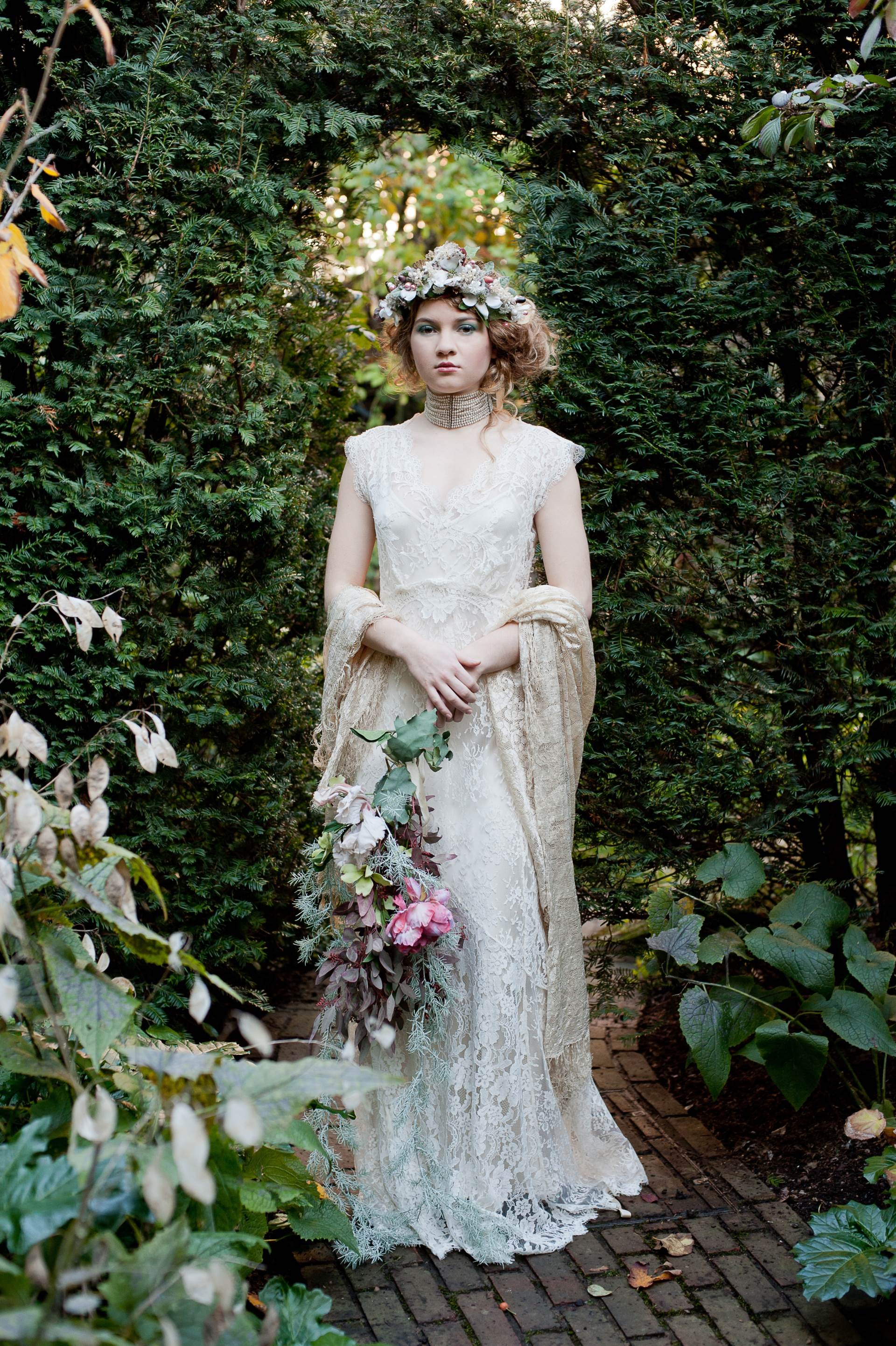 Carly by Sally Lacock as featured on The National Vintage Wedding Fair blog