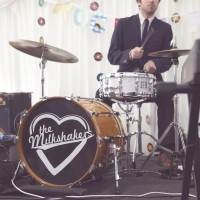 Dan and Maddi's Vintage Americana Country Wedding by Natalie J Weddings and featured on The National Vintage Wedding Fair The Milkshakers