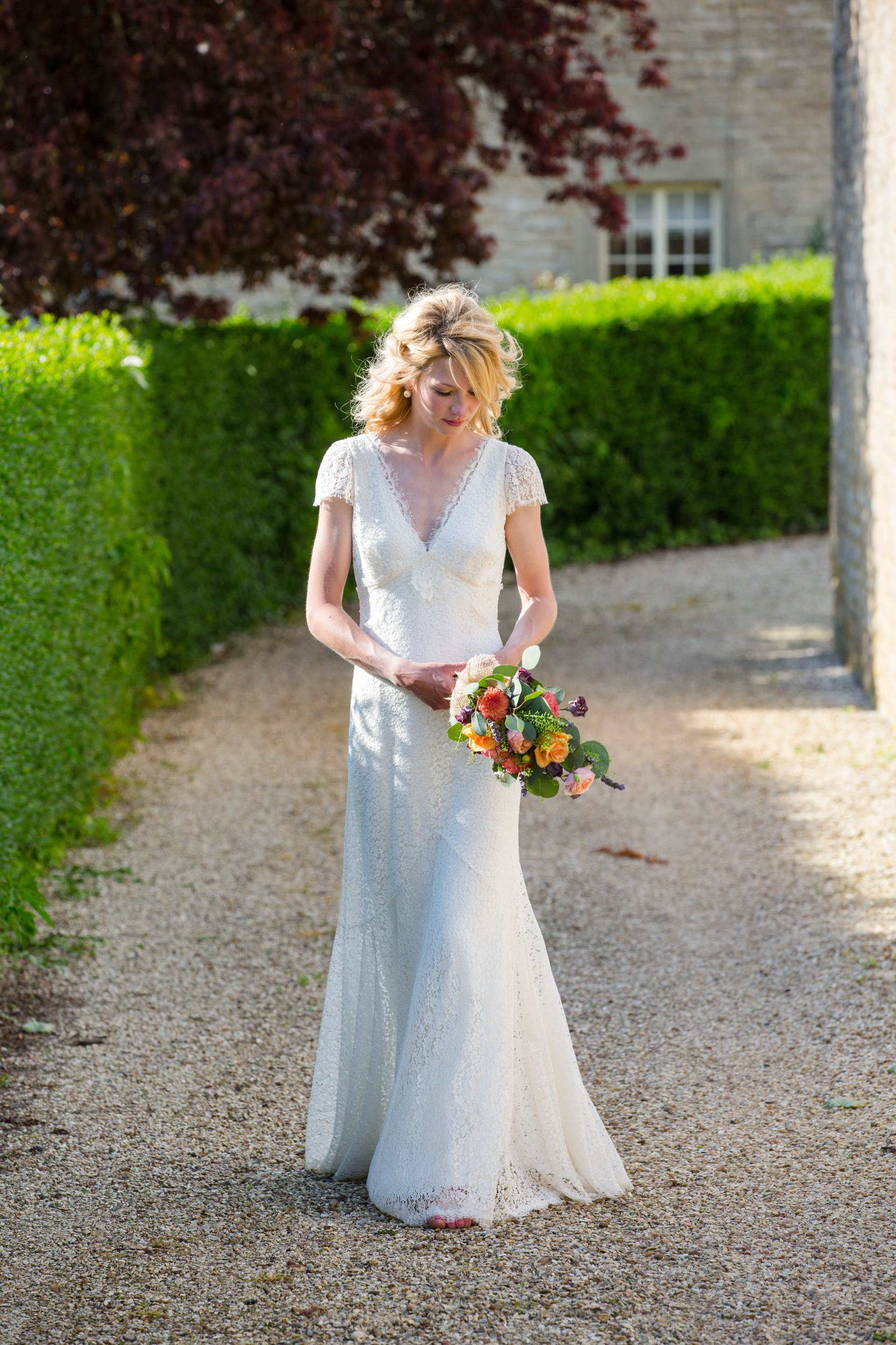 Elise by Sally Lacock as featured on the National Vintage Wedding Fair blog