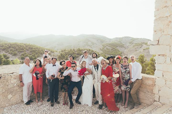 Lee & Leton Spain Destination Wedding by Amber Marie Photography as featured on The National Vintage Wedding Fair blog