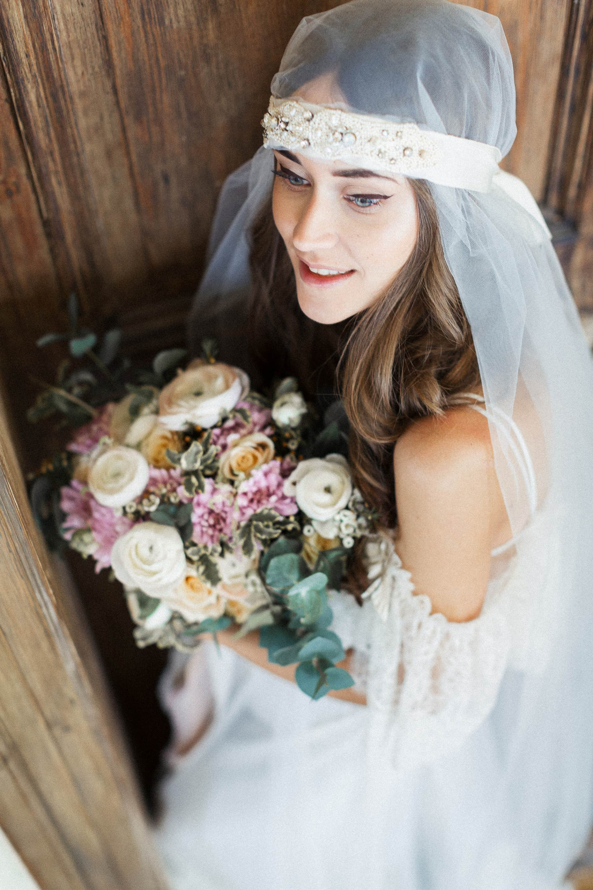 Flowers of the Valley bridal collection from Katya Katya Shehurina as featured on The National Vintage Wedding fair blog