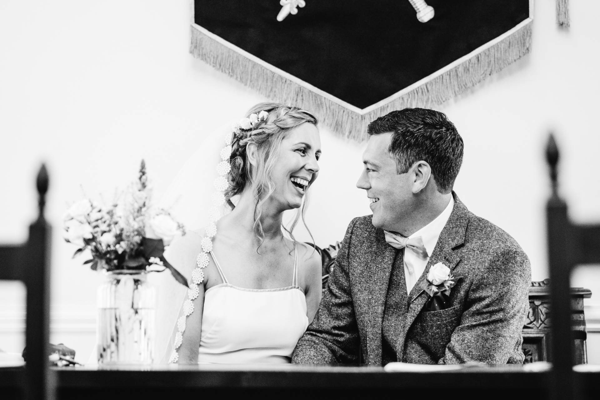 A Vintage Village Hall wedding photographed by Esme Mai Photography and featured on The National Vintage Wedding Fair blog