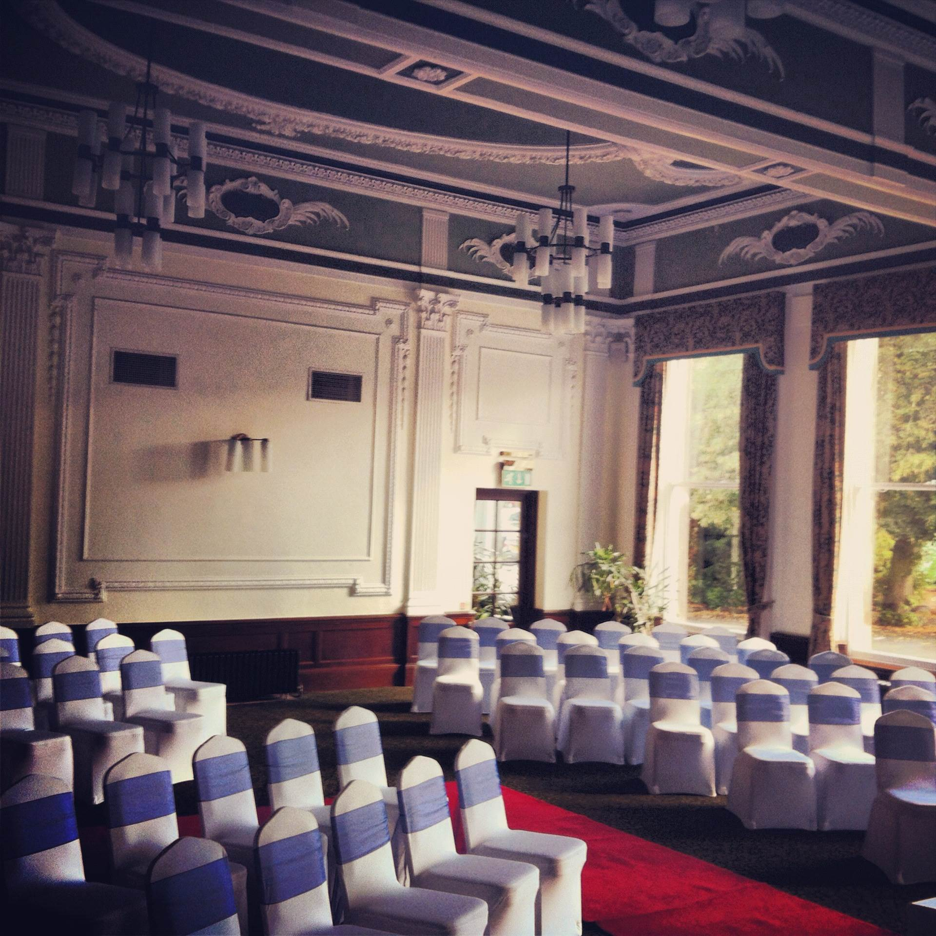 Cedar Court Hotel in Harrogate as featured on The National Vintage Wedding Fair blog