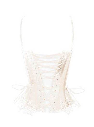 Vintage and vintage inspired bridal corset lingerie from Bridal Corsetorium as featured on The National Vintage Wedding Fair blog- how to choose the right underwear for your wedding