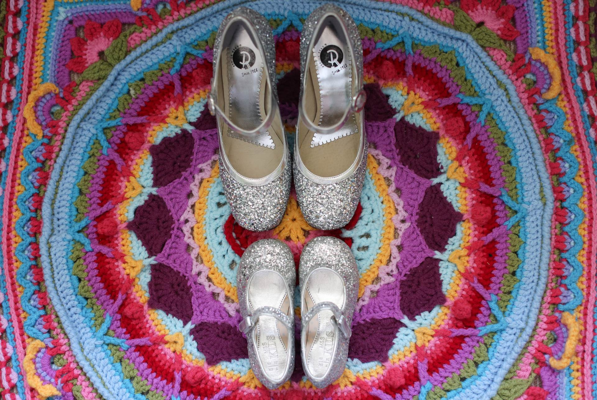 How to have a colourful wedding with Flipside Bride Shoes