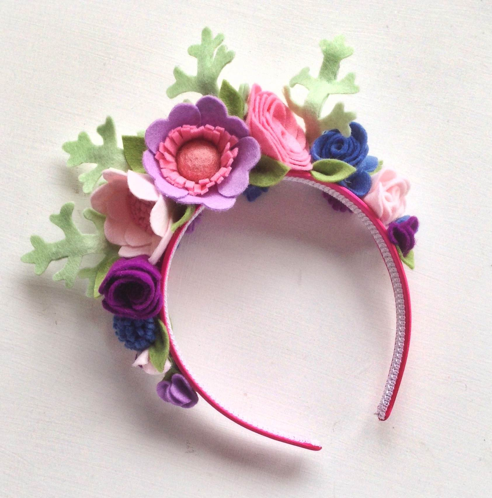 How to have a colourful wedding with Flipside Bride flower crown