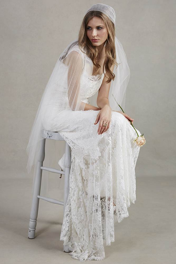 Vintage lace for your wedding dress | Magpie Wedding