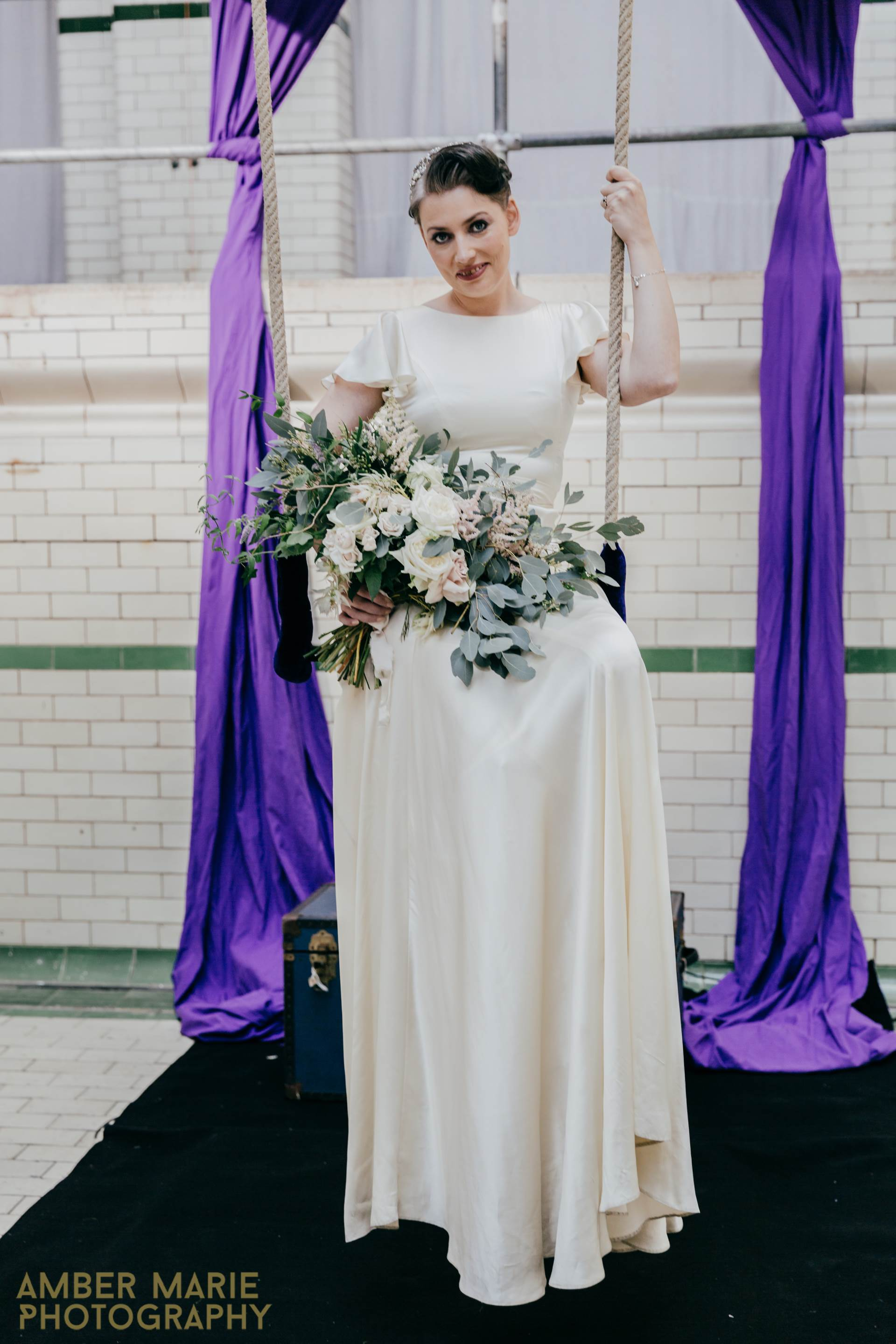 Our Manchester Vintage Wedding Fashion Parade | Magpie Wedding