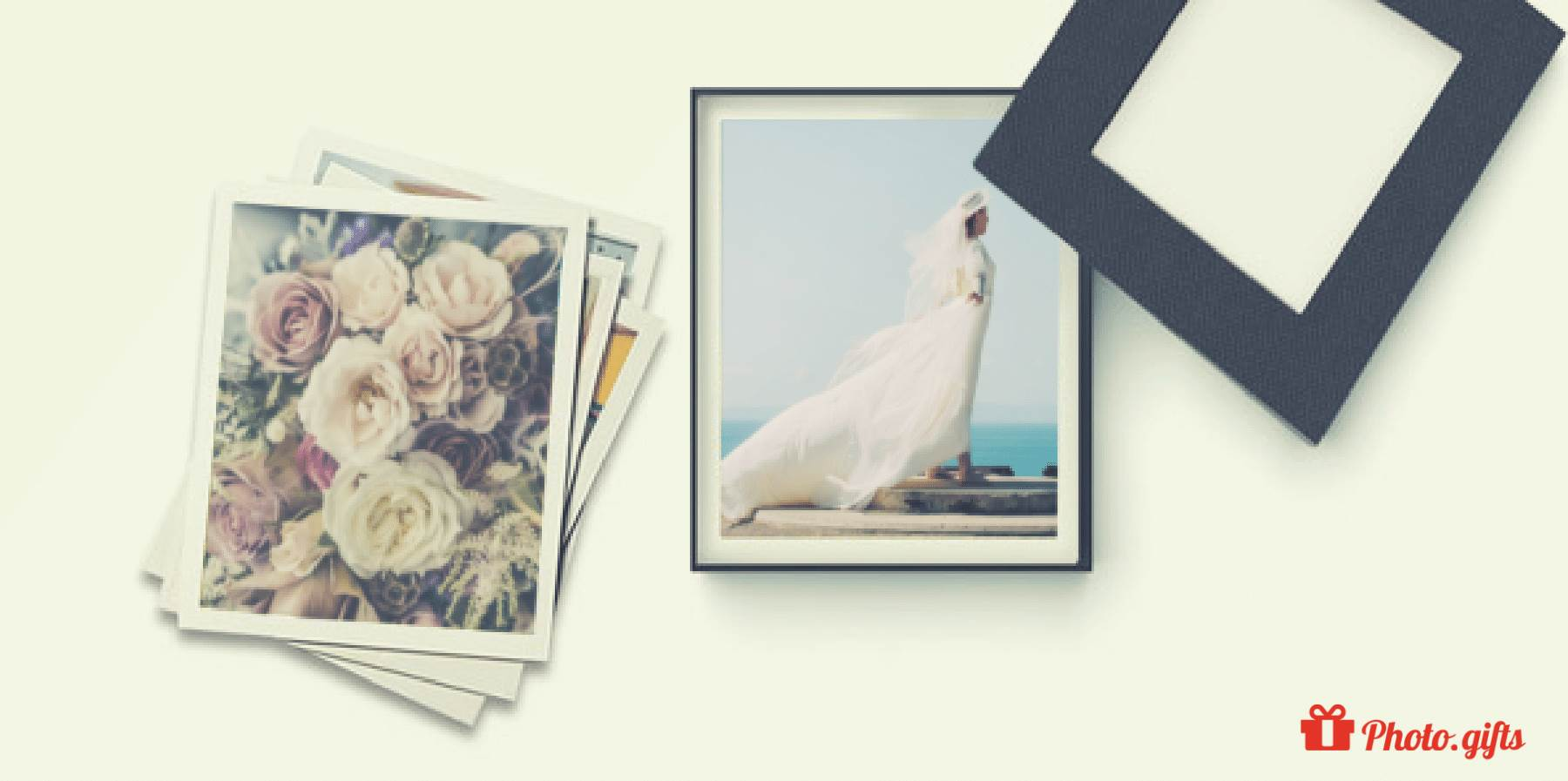 Share your favourite wedding photographs in a Photo Box