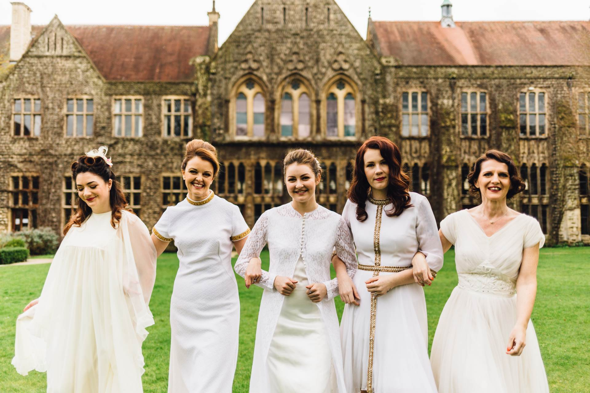 Our Cheltenham Wedding Fair at the Ladies College – The National Vintage Wedding Fair