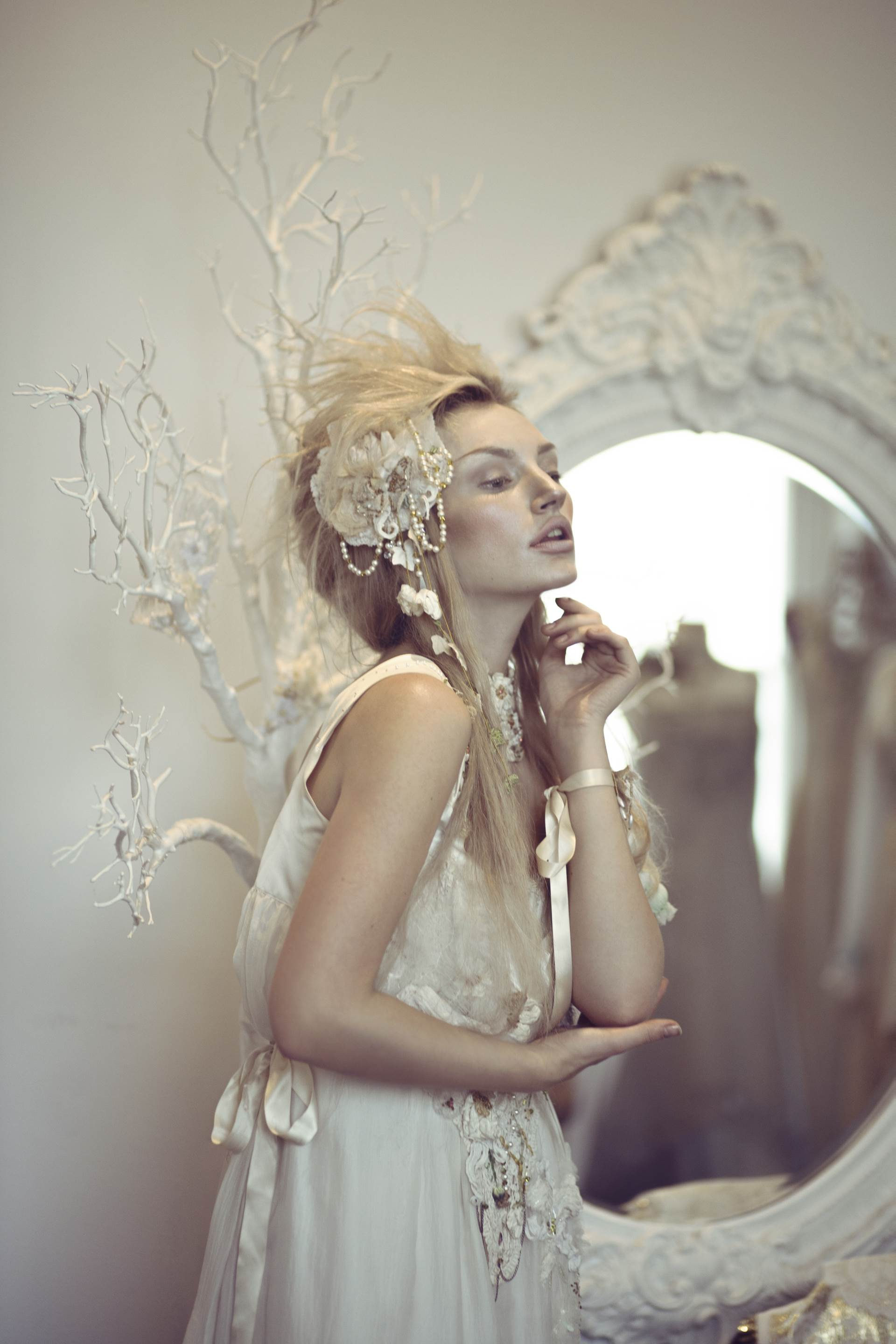 Alternative Wedding Inspiration: The Snow Queen Bride
