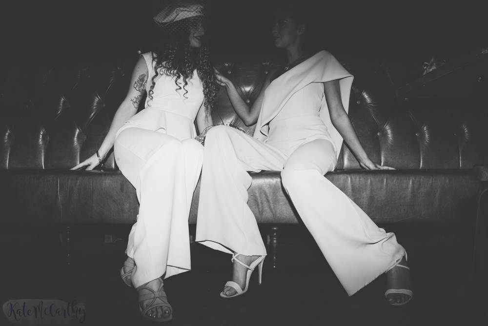 An urban nightclub Studio 54 wedding shoot in Manchester