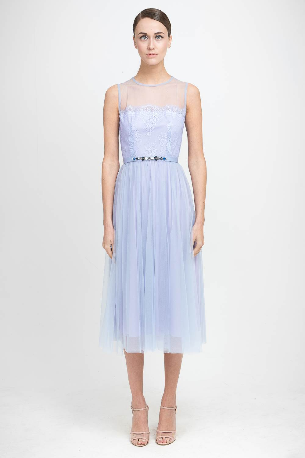 Pastel wedding dresses for the bride or even the bridesmaid