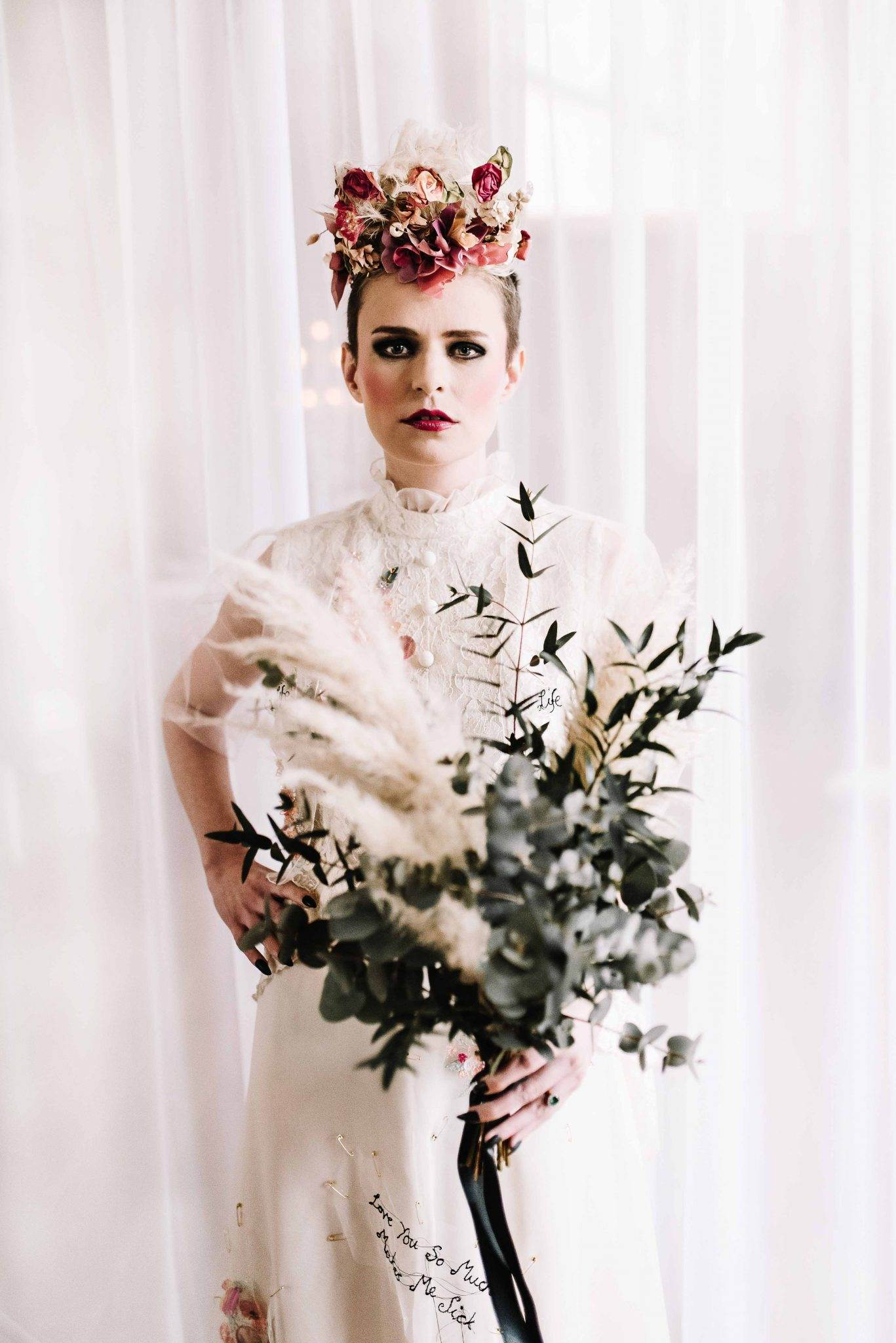 Pretty in Punk Wedding Inspiration with 1970s & 1980s Influences