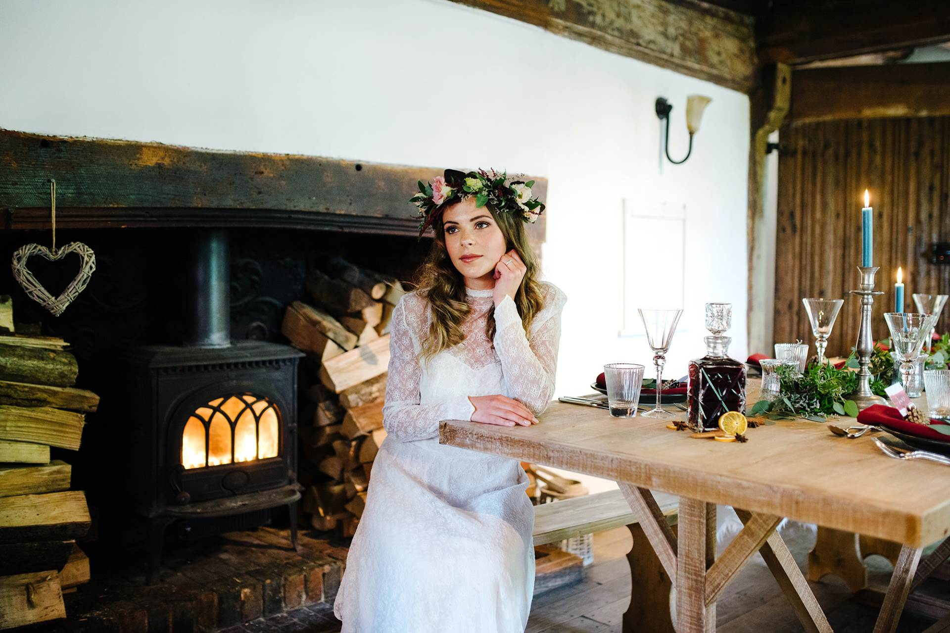 Autumnal Wedding Styled Shoot at Pilgrims Rest, Battle