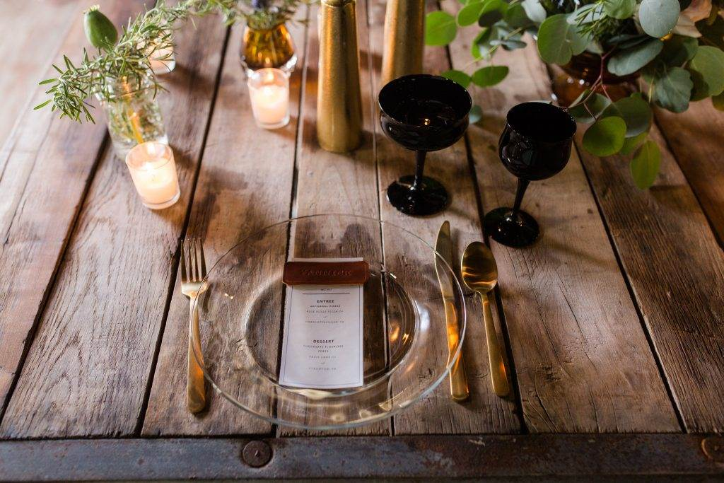 Industrial Minimalist Wedding Inspiration