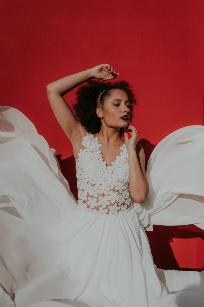 Mix and match with the new Lucy Can't Dance alternative bridal collection
