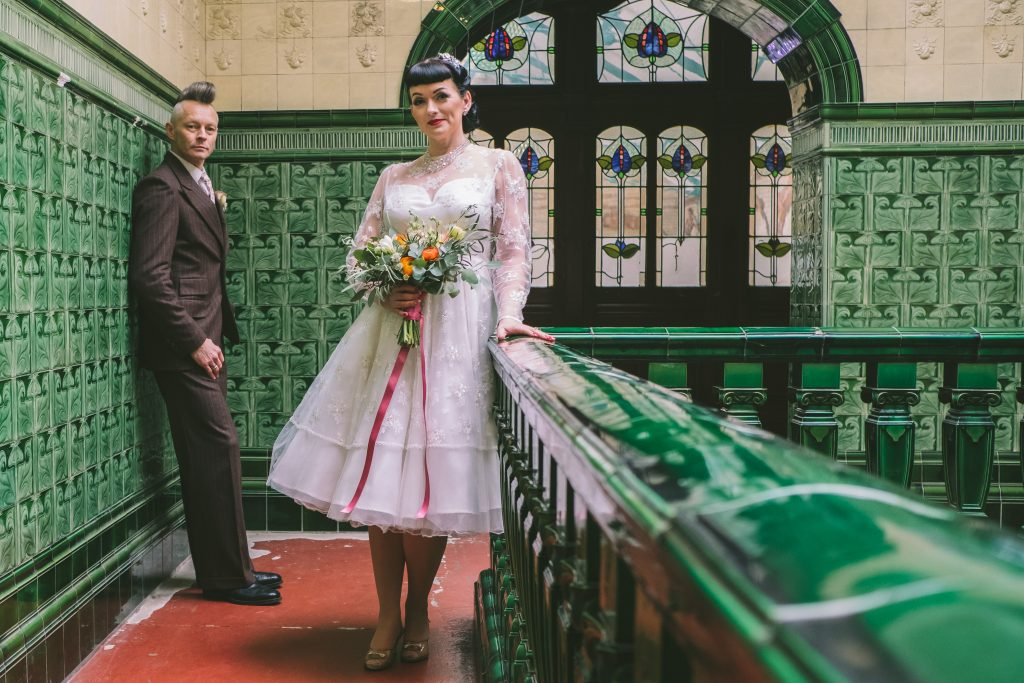 Magpie Wedding Fair, Victoria Baths - The Fake Wedding