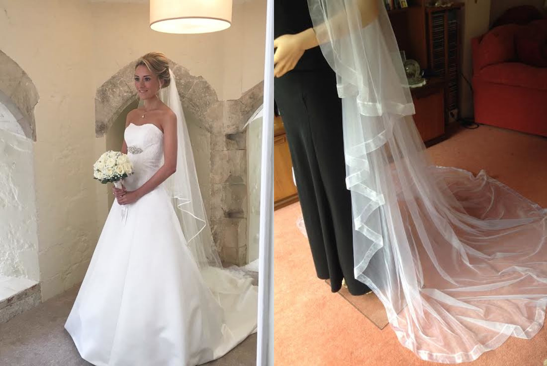 What wedding veils are available and how to choose the right one for your dress