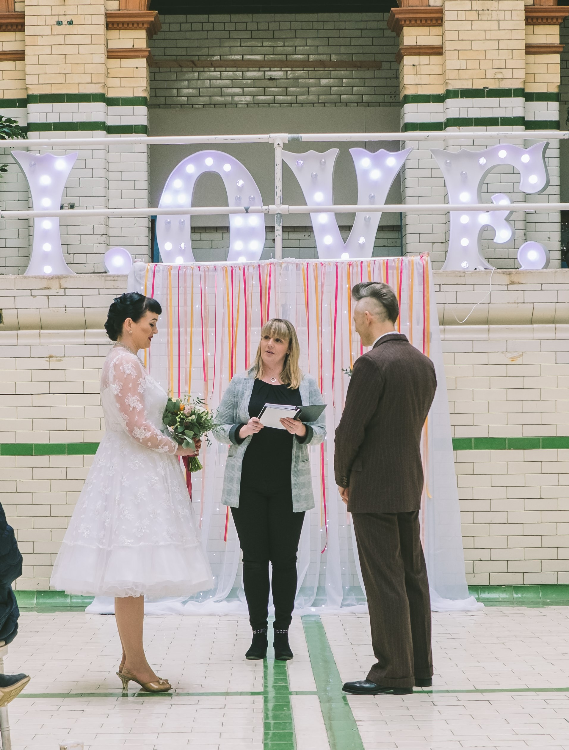 Magpie Wedding Fair, Manchester Victoria Baths - The Fake Wedding