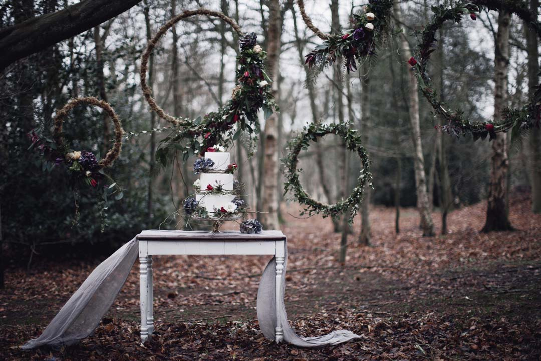 Alternative Bridal Style- A Rustic Woodland Wonderland