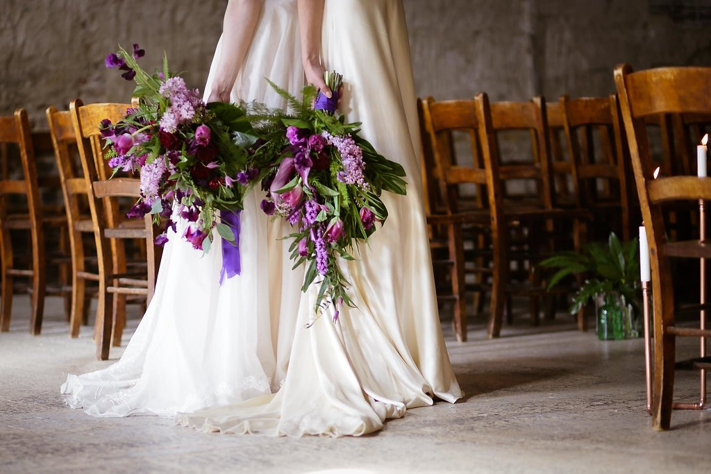 Rock the Purple Love - Colourful Wedding Inspiration for the Uber Cool, Modern Couple