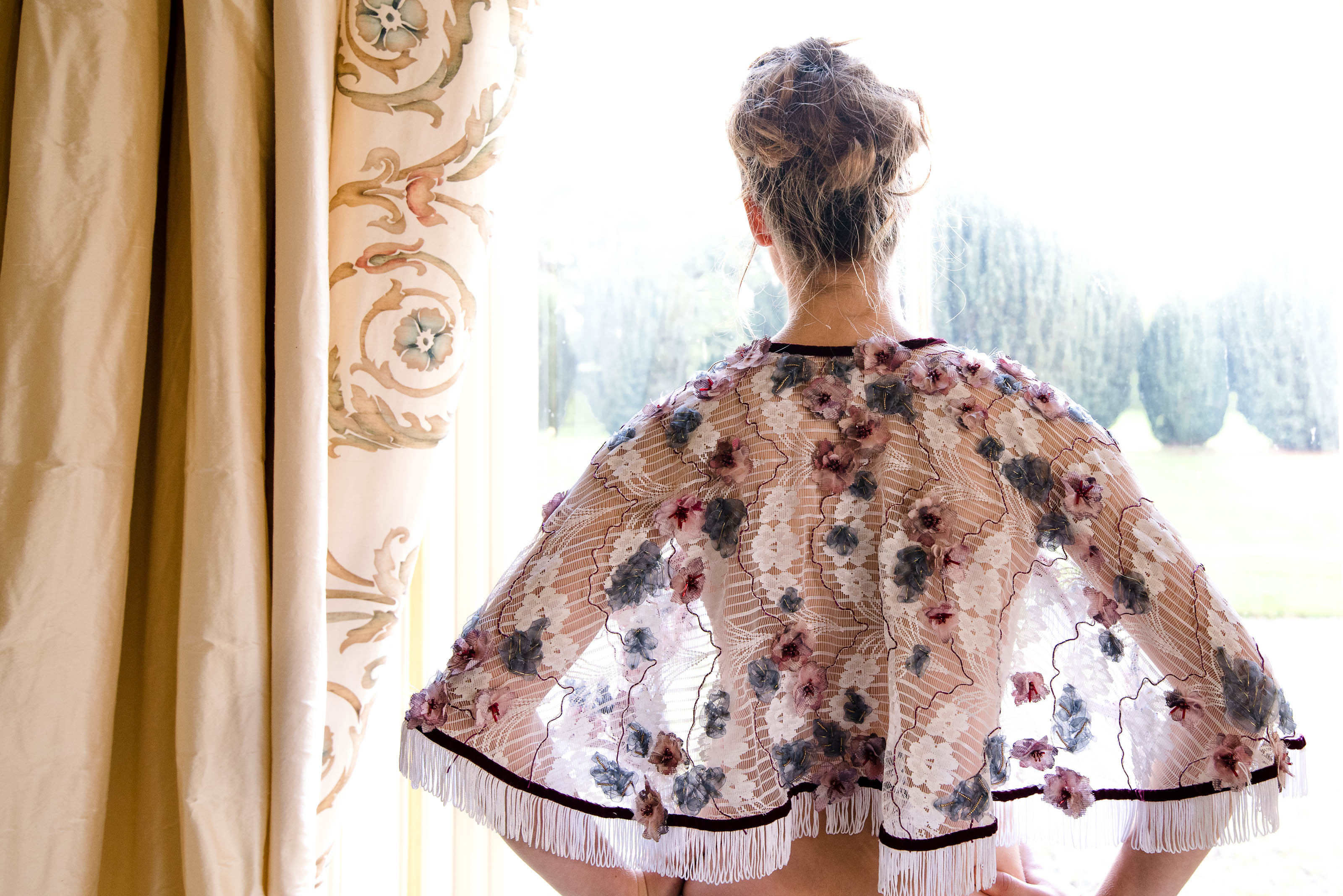 Embroidery and embellishments - how to stand out with an alternative look on your wedding day