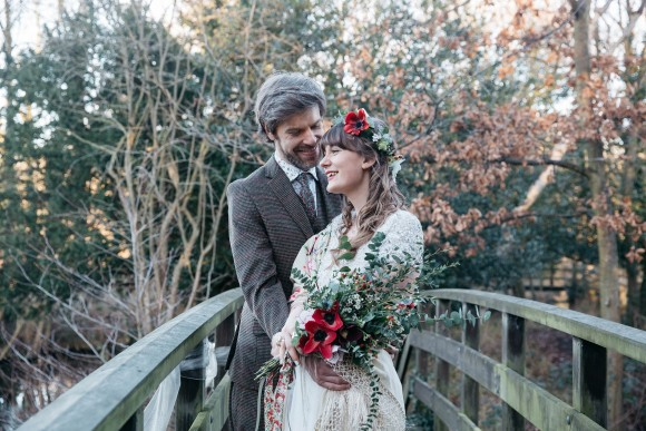 A DIY Festive Yorkshire Wedding at Monk Fryston Hall