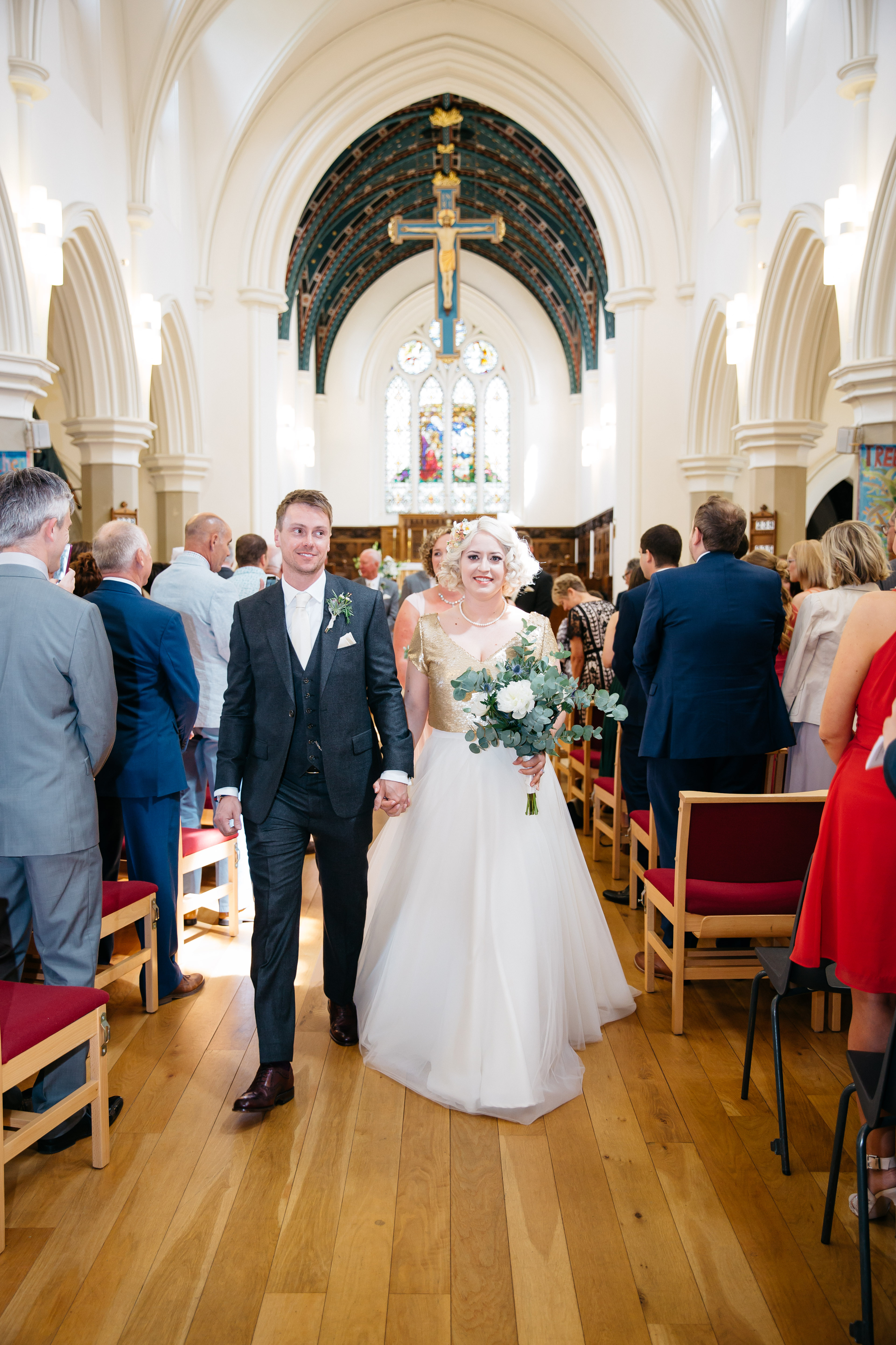 A Summer Wedding Soiree at Broughton Hall, Yorkshire