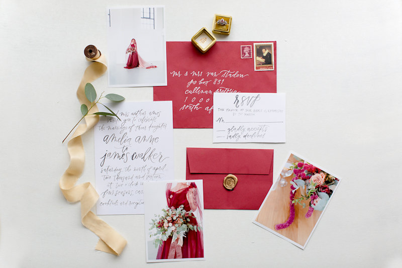 The Red Box Project: Giving girls confidence when they most need it - Red wedding Dress