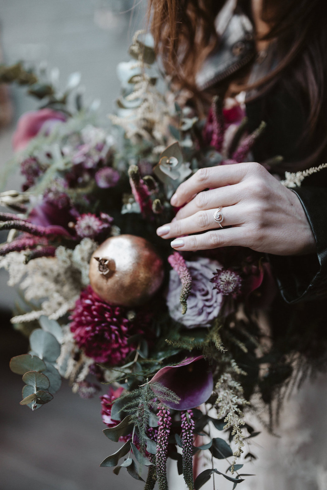 Fruits of Love - Opulent Purple Wedding Inspiration in Paradise by Way - Kensal Green