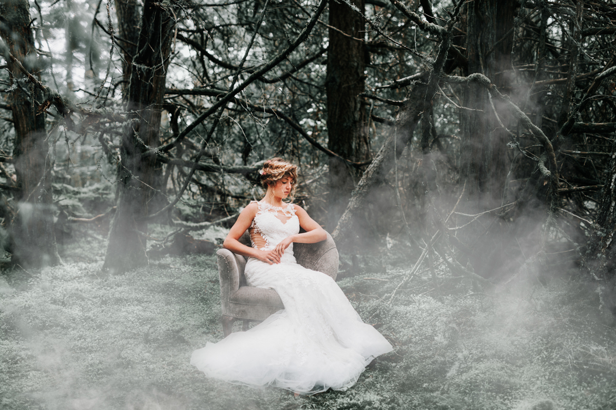 Wild and Enchanting Outdoor Wedding Inspiration in Washington Park - USA