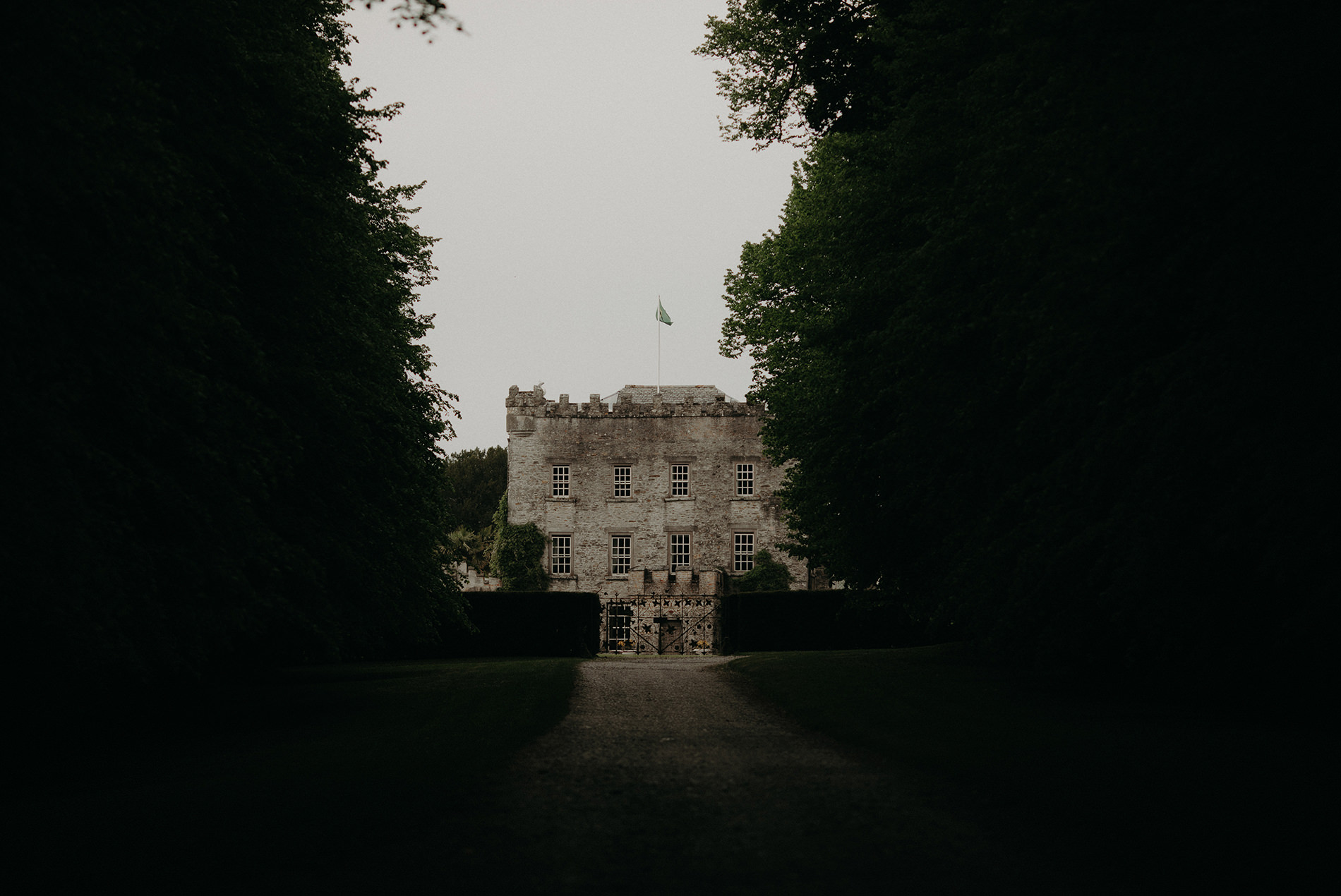 Woodland Animal Outdoor Wedding Huntington Castle - Ireland
