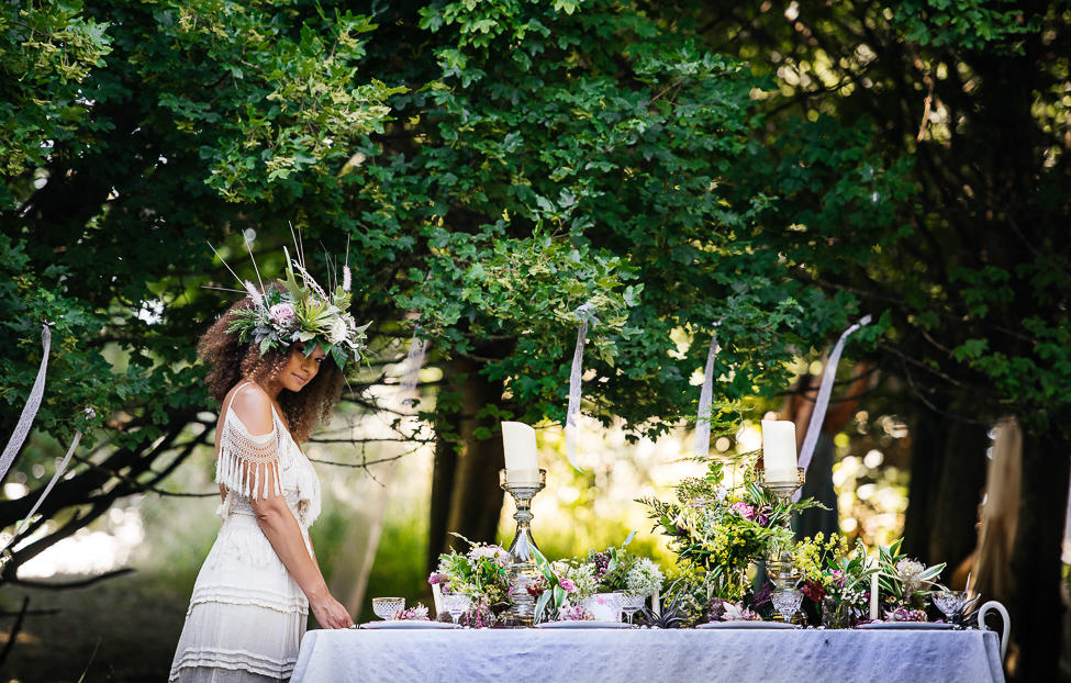 Boho Summer Garden Wedding Inspiration with relaxed and colourful Cuban vibes