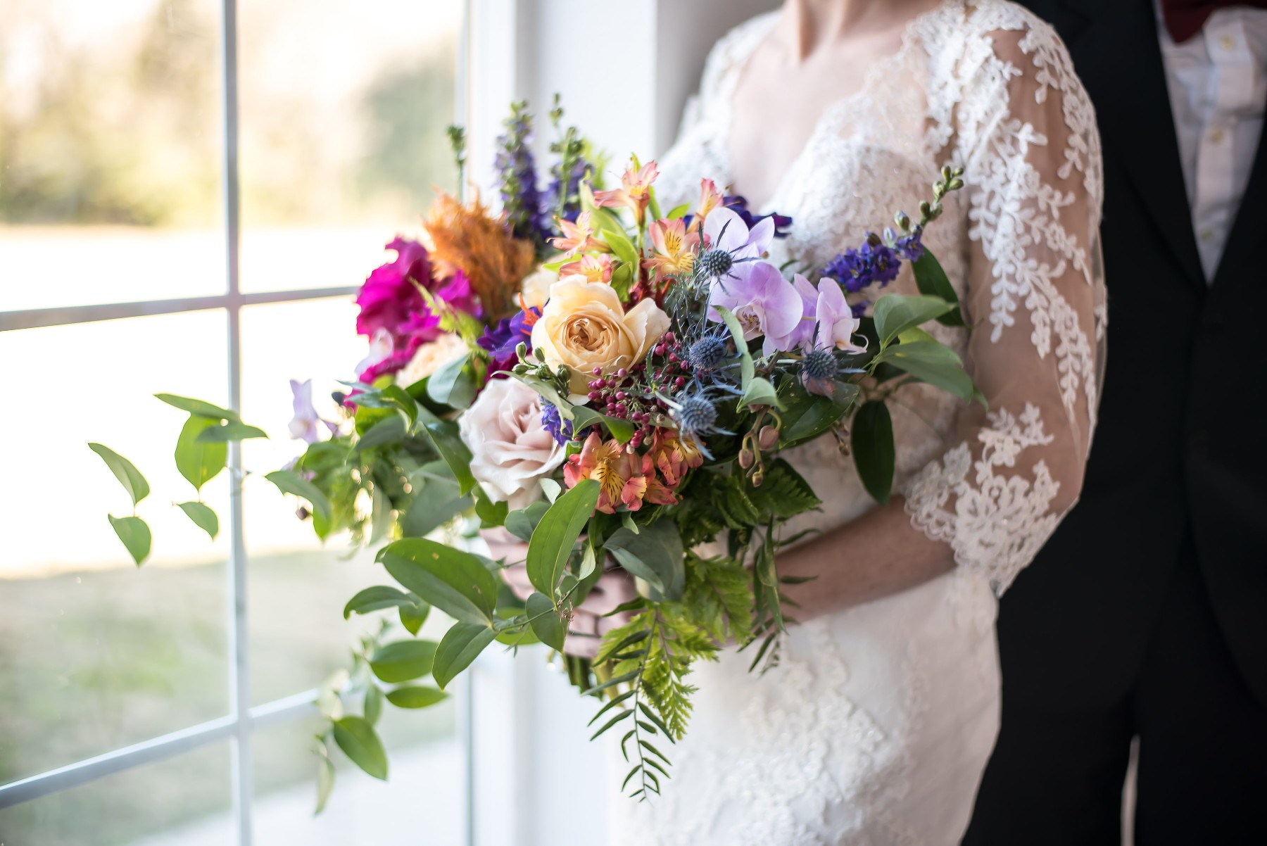 Jewel Coloured Wedding Inspiration with French Country Vibes and a touch of Vintage