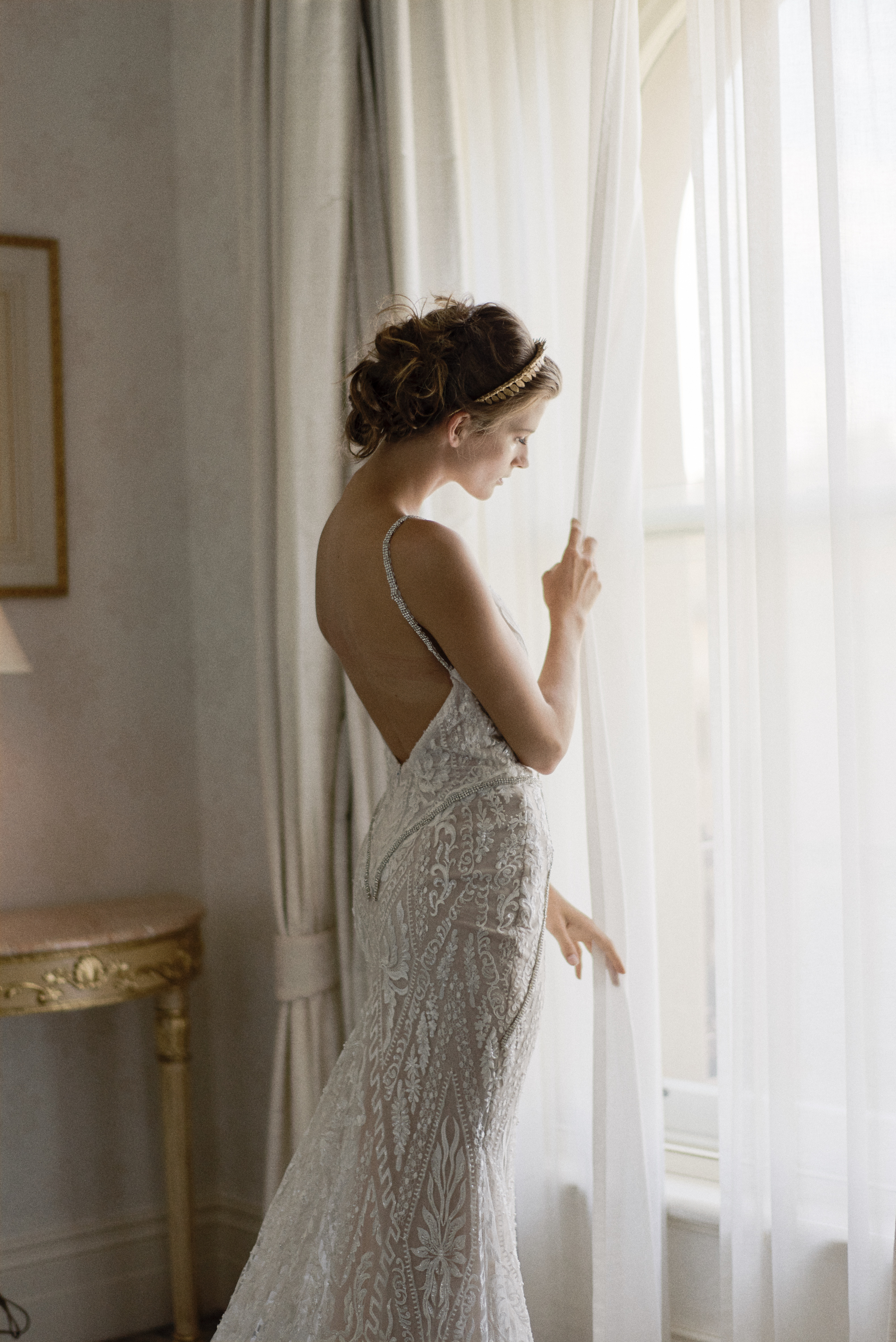 Pre-Wedding Preparation at Windsor Hotel with Uber Chic Bridal Gowns and Regal Accessories
