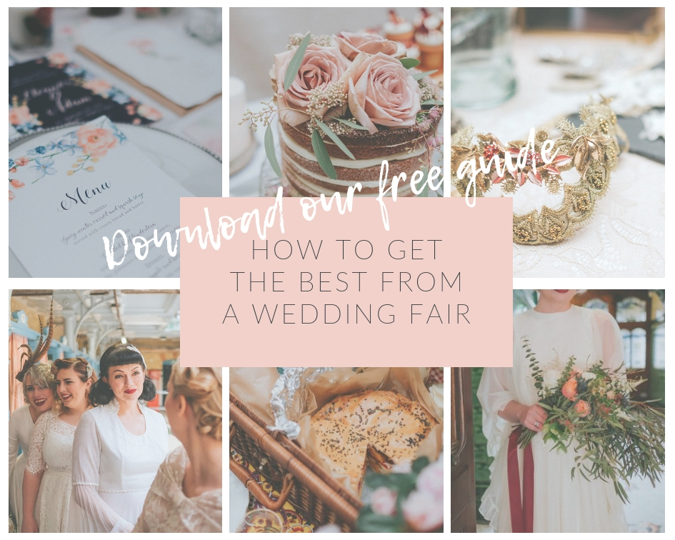 How to get the most from a wedding fair