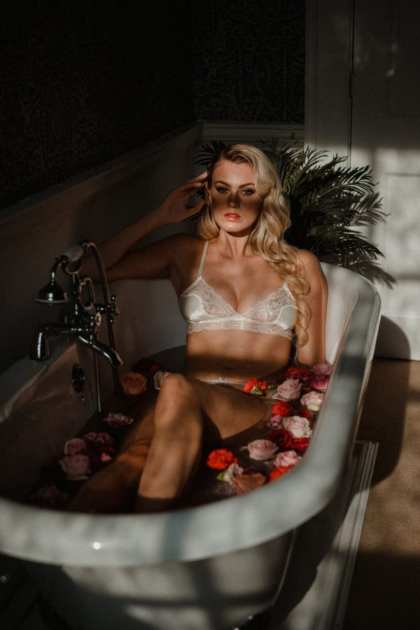 Wedding Lingerie Luxe - A Pin up Girl Boudoir Shoot