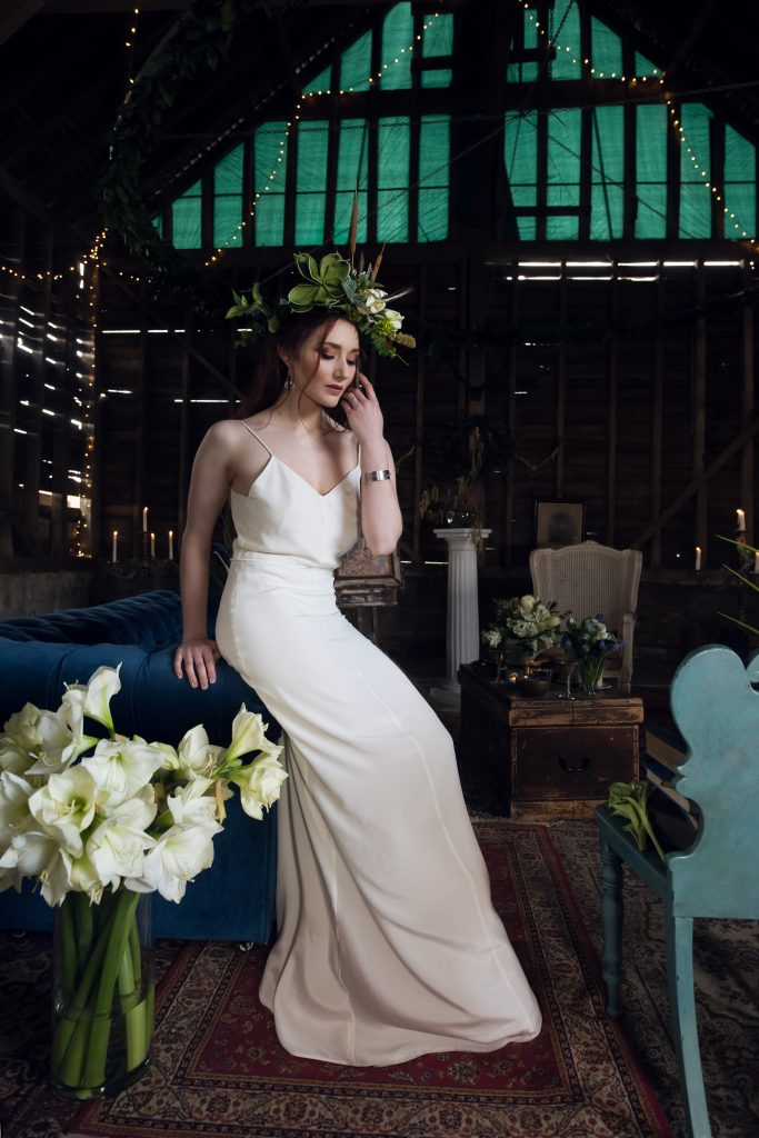 Ethical Vegan wedding dress by River Elliot Bridal