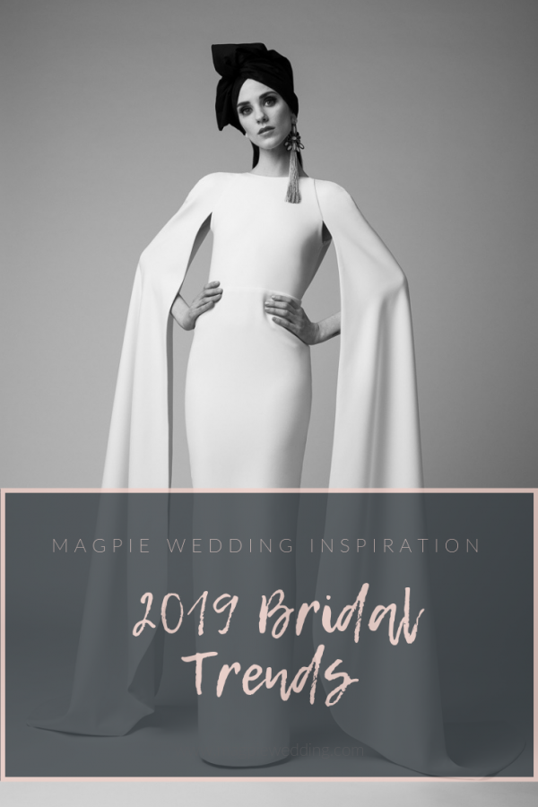 ridal Trends 2019 - Magpie Wedding's Top Ten New Year Trends