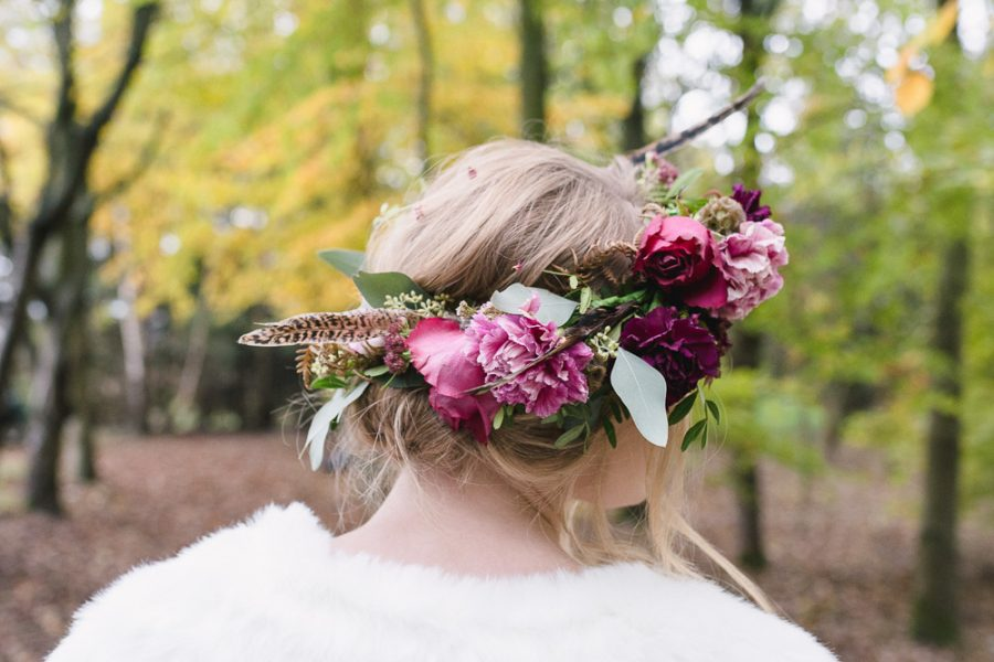 Rustic Woodland Wedding with Boho Styling and a Glitter Bar